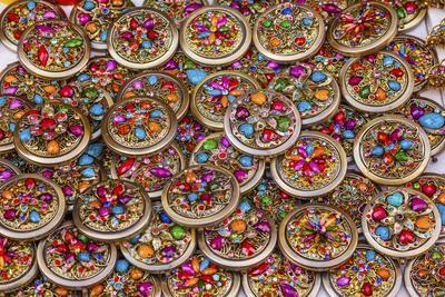 Colorful Souvenir Jewelry, Guanajuato, Mexico