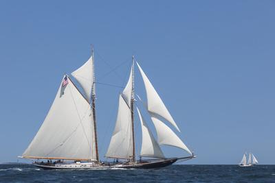 USA, Massachusetts, Cape Ann, Gloucester, schooner sailing ships