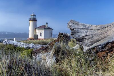USA, Oregon. Scenic of Umpqua River Lighthouse.