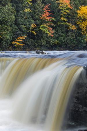 Tahquamenon Falls, Tahquamenon Falls State Park, Whitefish, Michigan.