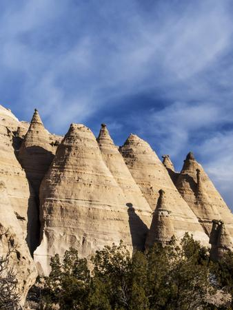 USA, New Mexico, Cochiti, Tent Rocks Monument