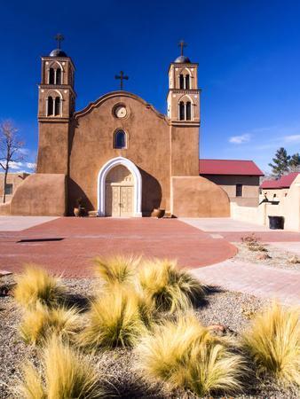 USA, New Mexico, Socorro, Mission San Miguel Socorro