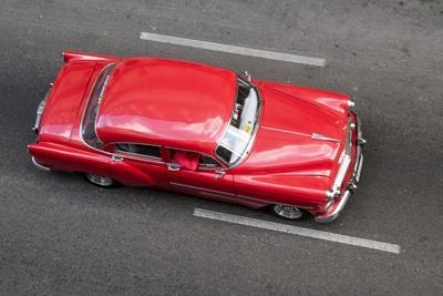 A classic Chevrolet on the street in Havana, Cuba.