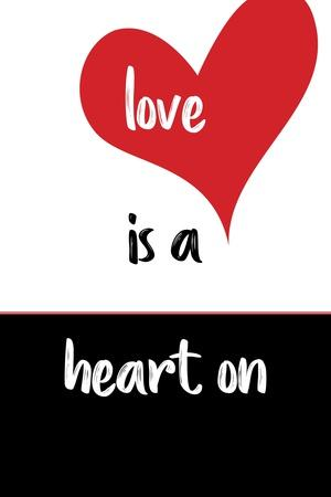 Love Is a Heart On