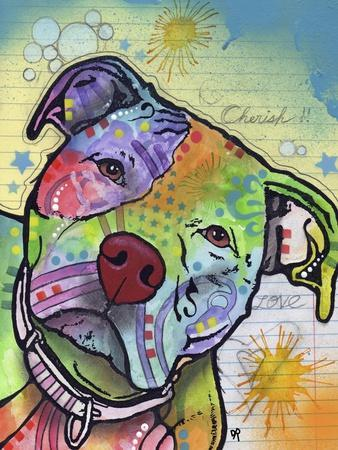 Scholar, Dogs, Pets, Animals, Pit Bulls, Looking up, Cherish, Lined Paper, Pop Art, Stencils