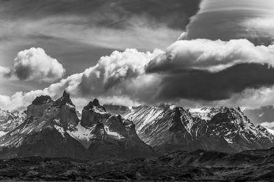 Torres Del Paine National Park, Cuernos and Clouds, Region 12, Chile, Patagonia