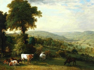 View of Shibden Valley