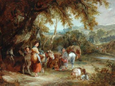 A Gypsies' Encampment, 1788