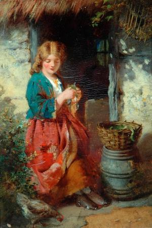 Woman At A Cottage Door, 1851-93