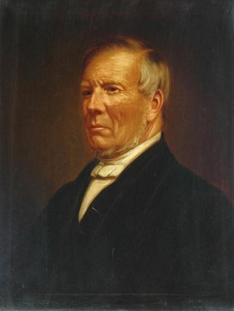 Portrait of Joshua Dodgson, c.1855