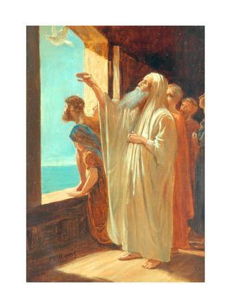 Noah Sending Forth The Dove