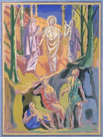 Study for mural of the Ascension, 1973