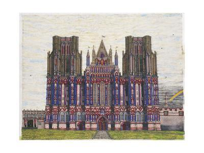 Wells Cathedral, main panel from 'Magnum Opus', 2003