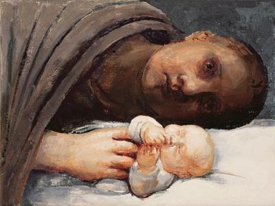 Mother and Child Resting, 1996