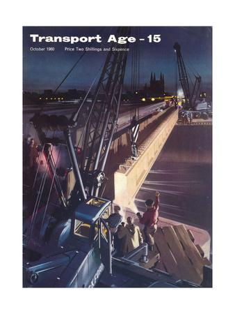 Transport Age' magazine cover, 1960