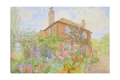 Summer Garden at Fairoakland, West Sussex, 1998