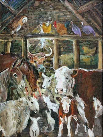 The Barn at Christmas, 2014