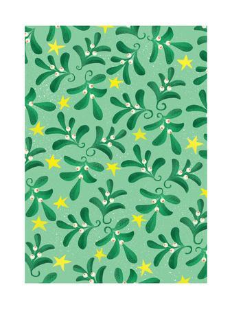 Green Christmas pattern, 2016