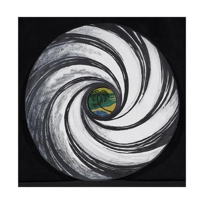Lense Swirl with Palm Tree, 2005