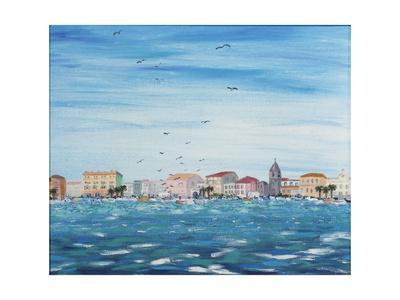 Sea Scene with Houses, 1995