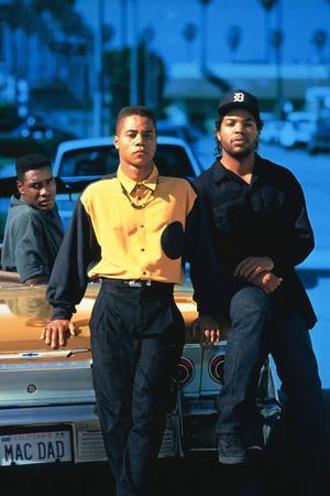 "ICE CUBE; CUBA GOODING JR.. ""BOYZ N THE HOOD: INCREASE THE PEACE"" [1991] (BOYZ N THE HOOD), dire..."