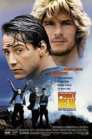 POINT BREAK [1991], directed by KATHRYN BIGELOW.