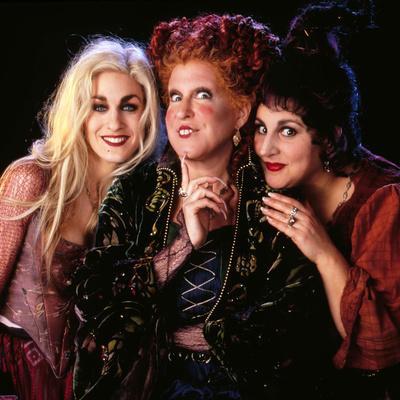 "BETTE MIDLER; SARAH JESSICA PARKER; KATHY NAJIMY. ""HOCUS POCUS"" [1993], directed by KENNY ORTEGA."