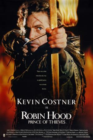 """KEVIN COSTNER. """"ROBIN HOOD: PRINCE OF THIEVES"""" [1991], directed by KEVIN REYNOLDS."""