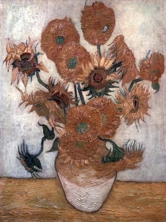 'Sunflowers', 1889.  Artist: Vincent van Gogh