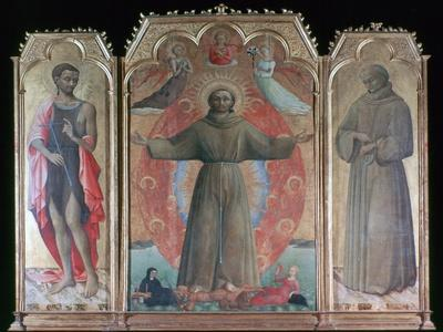 'The Ecstasy of St Francis', 1437-1444. Artist: Sassetta