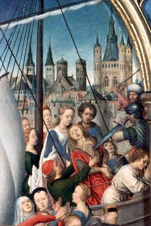 'St Ursula Shrine, Martyrdom', Detail, 1489. Artist: Hans Memling