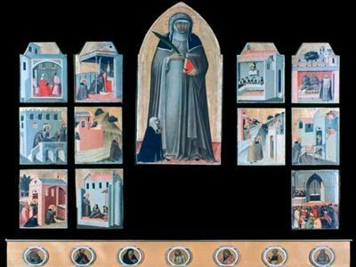 'The Blessed Humility and Eleven Stories from Her Life', c1306-1348. Artist: Pietro Lorenzetti