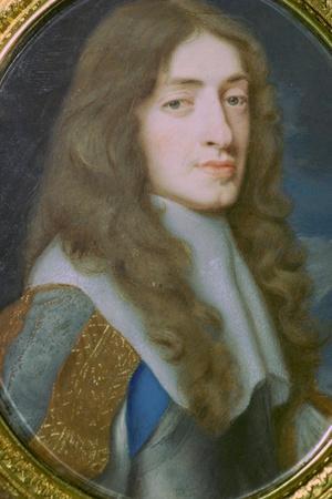 Miniature portrait of King James II of England as the Duke of York. Artist: Samuel Cooper
