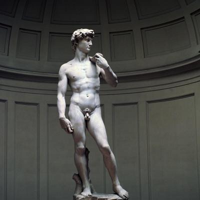 Michelangelo's David, 16th century. Artist: Michelangelo Buonarroti