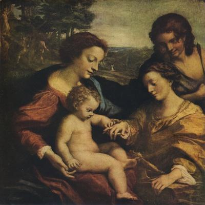 'The Mystic Marriage of St Catherine', 1526-1527