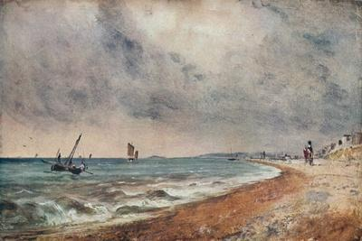 'Hove Beach, with Fishing Boats', c1824