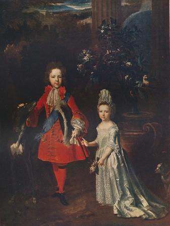James Francis Edward Stuart (1688-1765), Louisa Maria Theresa Stuart (1692-1712), 1695, (1911)