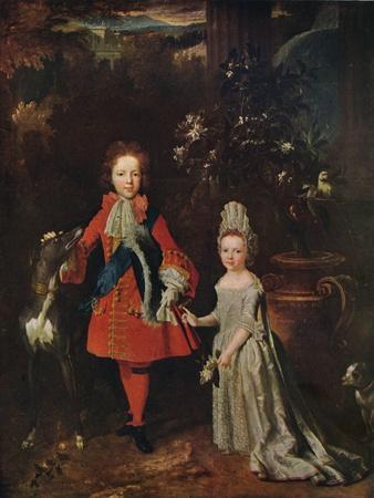 James Francis Edward Stuart (1688-1765), Louisa Maria Theresa Stuart (1692-1712), 1695, (1915)