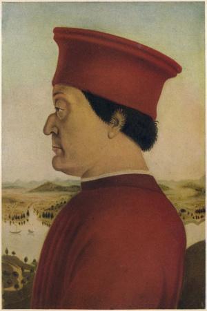 Fredrigo Di Montefeltro, Duke of Urbino, c1465. (1914)