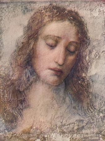 Study for the head of Christ for The Last Supper, c1495, (1911)