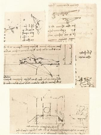 Four drawings illustrating the practice of painting, c1472-c1519 (1883)