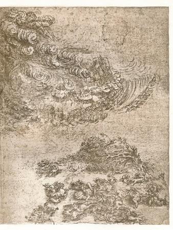 Representation of a tempest, c1472-c1519 (1883)