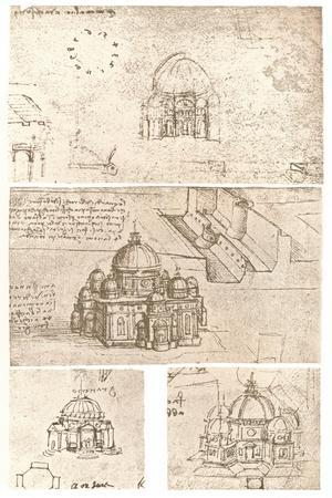 Four drawings of ecclesiastical architecture, c1472-c1519 (1883)