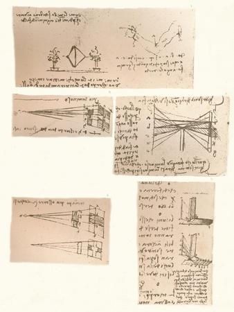 Five drawings illustrating the theory of painting, c1472-c1519 (1883)