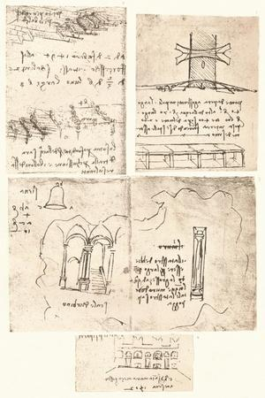Four topographical drawings, c1472-c1519 (1883)