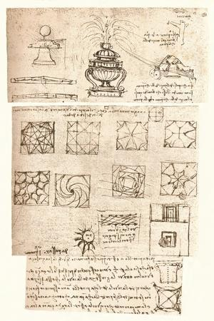 Three architectural drawings, c1472-c1519 (1883)