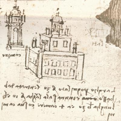 Drawing of projects for castles and villas, c1472-c1519 (1883)