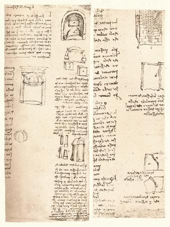 Two architectural drawings, c1472-c1519 (1883)