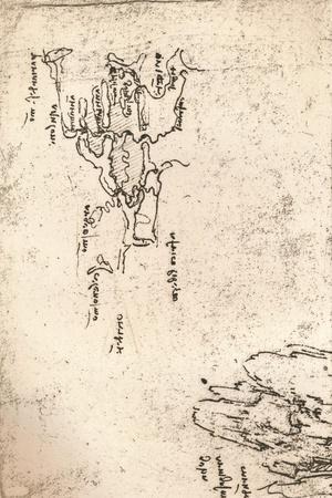 Sketch map of Armenia, c1472-c1519 (1883)
