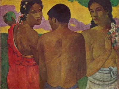 'The Three Tahitians', 1899